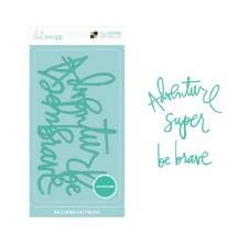 DCWV Letterboard Words- Heidi Swapp, Adventure