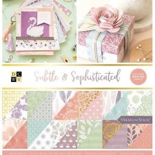 12x12 DCWV Paper Stack- Suble & Sophisticated