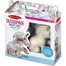 Melissa & Doug Decoupage Made Easy Craft Kit- Unicorn