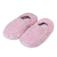 Warmies Spa Therapy Slippers- Deep Lavender