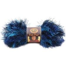 Fun Fur Yarn- Deep Sea