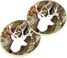 Car Coasters, 2pk- Deer Camo