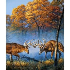 Nature & Wildlife Fabric Panel- Nature's Finest Battlefield