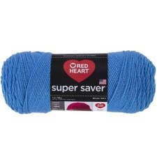 Red Heart Super Saver Yarn- Delft Blue