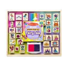 Melissa & Doug Deluxe Stamp Set- Fairy Tale