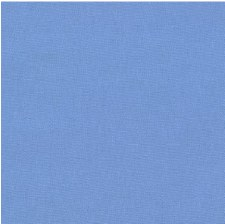 "Kona Cotton 44"" Fabric- Blues- Denim"