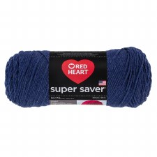 Red Heart Super Saver Yarn- Denim