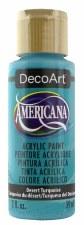 Americana Acrylic Paint, 2oz- Blues: Desert Turquoise