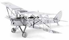 Metal Earth 3D Metal Model Kit- Aircraft, DH82 Tiger Moth