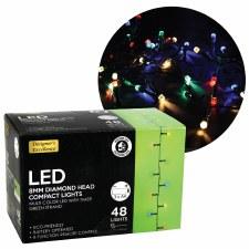 Diamond Head LED Lights- Multi-Colored