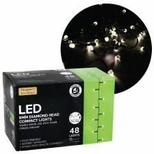 Diamond Head LED Lights- White