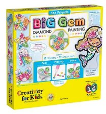 Creativity for Kids Big Gem Craft Kit- Sea Friends
