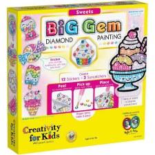 Creativity for Kids Big Gem Craft Kit- Sweets