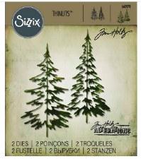Tim Holtz Christmas Thinlits- Woodlands