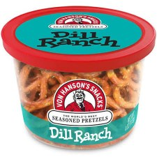 Von Hanson's 4oz Pretzel Cup- Dill Ranch
