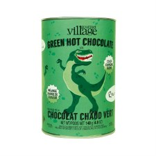 Colored Hot Cocoa Mix Canister- Green