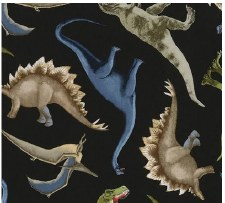 Bolted Fabric- Dinos