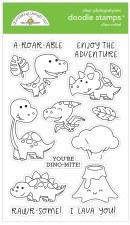 Doodle Stamps & Dies- Dino Mite! Stamps