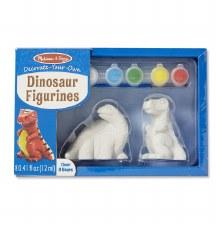 Melissa & Doug Decorate Your Own- Figurines, Dinosaur
