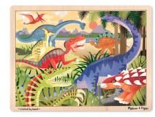 Melissa & Doug Jigsaw Puzzle- Dinosaurs