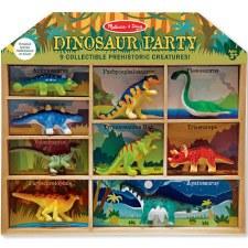 Melissa & Doug Play Set- Dinosaur Party