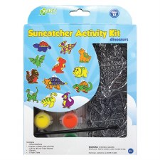 Suncatcher Activity Kit- Dinosaurs