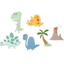 Sizzix Thinlits Dies- Dinosaurs