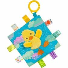 Taggies Crinkle Me Baby Toy- Dipsy Duck