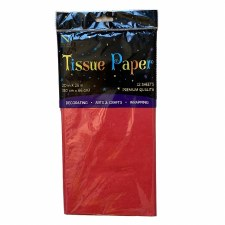 12 Sheet Tissue Paper - Red
