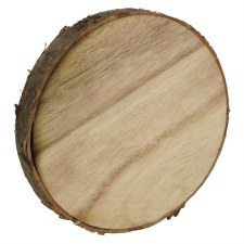 "5"" Natural Wood Disc"