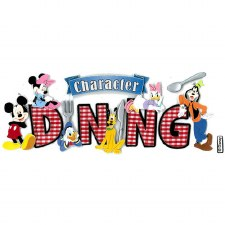 Jolee's Magical Dimensional Title Stickers- Character Dining
