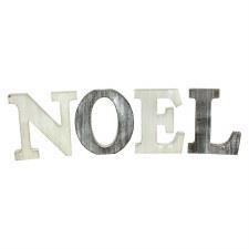 Wood Noel Decor