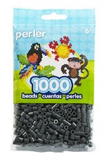 Perler Beads 1000 piece- Dark Grey