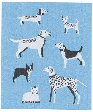 Swedish Dishcloth- Dog Days
