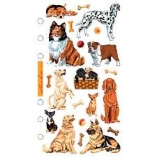 Sticko Stickers- Animals- Dog Daze