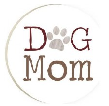 Car Coaster- Dog Mom