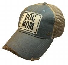 Women's Trucker Baseball Cap- Dog Mom