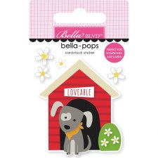 Cooper Bella-Pops Stickers- Doghouse