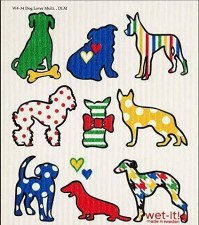 Swedish Dishcloth- Dogs
