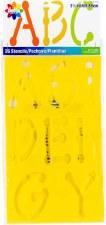 "Delta Alphabet Stencils, 3.5""- Dot Uppercase"