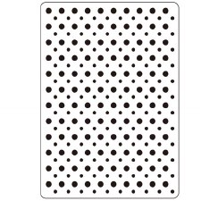 Darice Embossing Folder- Background- Dots