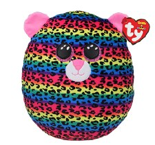 "Squish-A-Boo, 10""- Dotty Leopard"