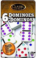 Classic Games- 6 Dominoes