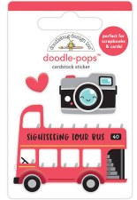 I (Heart) Travel Doodle-Pops- Double Decker