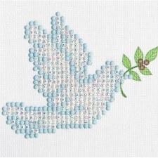 Diamond Facet Art Starter Kit- Dove of Peace