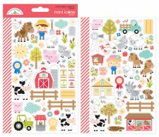 Down On The Farm Stickers- Mini Icons