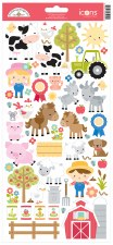 Down On The Farm Stickers- Icon