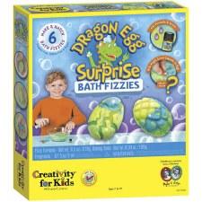 Creativity for Kids Craft Kit- Dragon Egg Surprise Bath Fizzies