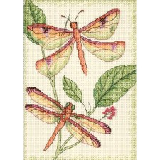 Dimensions Cross Stitch Kit- Dragonfly Duo