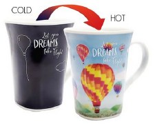 Color Changing Story Mug- Dream Balloon